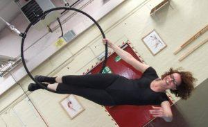 Aerial hoop lessons in York
